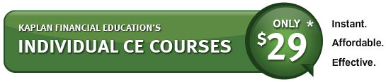 Insurance CE Individual Courses